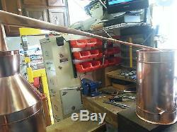 Sale 5 Gallon Copper Moonshine Still / Copper Condensing/Thump can