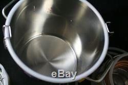 Seeutek 3 Gal 12 Lt Moonshine Still Distiller 3 Pot Copper Tube New Open Box