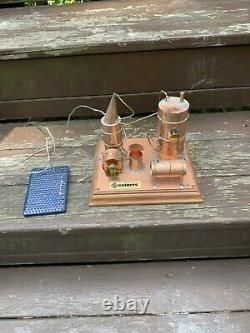 Solarts solar powered kinetic art forms old moonshine still Works Great