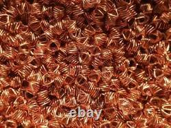 Spiral prismatic packing 99.9% copper 1.28L(1.85kg) for moonshine still SPP