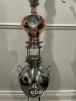 Still Copper Distiller Moonshine Craft Gin Rum Alcohol