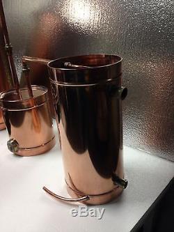 StillZ 20 Gallon Electric Moonshine Still Copper Still 20 oz. Copper ELECTRIC