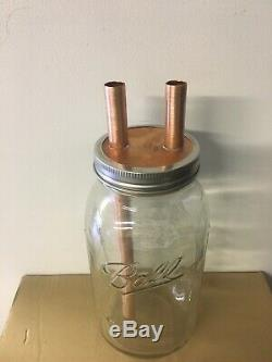 Three 1/2 Mason Jar Thumpers for Wide Mouth Half Gallon Mason Jars With Fitting