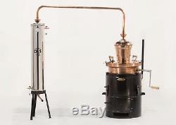 Traditional 60 Litre Copper Pot Still Moonshine