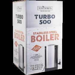 Turbo 500 Still Kit with Copper Reflux Condenser Moonshine Spirits Vodka