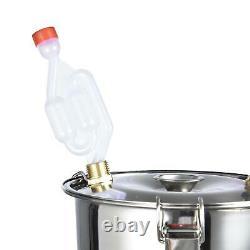 UK 3 GAL 2POTS Alcoho Distiller Moonshine Copper Wine Maker Water Still Boiler