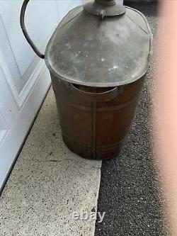 VINTAGE ANTIQUE Moonshine Whiskey, Copper Still UNIQUE SHAPE DISPLAY Decor