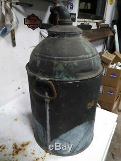 Vintage Antique Copper Whiskey Still Moonshine White Lightening Boiler