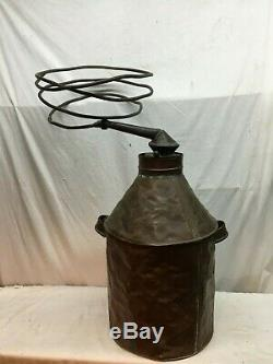 Vintage Authentic Copper Moon Shine Still With Copper Line