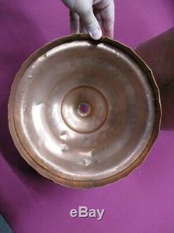 Vintage Copper 5 Gallon Moonshine Still Pot- Hand Made