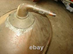 Vintage Copper Moonshine Actual Whiskey Still Boiler (from eastern NC)