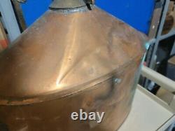 Vintage Copper Moonshine Still