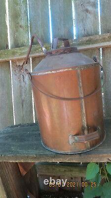 Vintage Copper Moonshine Still JUG