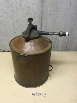 Vintage Copper Moonshine Whisky Still. Five Gallon Screw Clamp. Good Condition