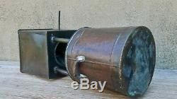 Vintage Copper Silver Solder Hand Fabricated Moonshine Liquor Still