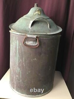 Vintage Copper Still Pot Moonshine Mash Boiler 13 Distilling Whiskey Brewing