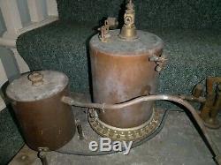 Vintage scratchbuilt Copper vessels possibly a moonshine still distillery